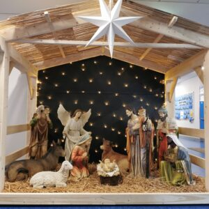 Nativity crib