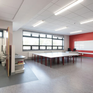St Mochtas National School red classroom